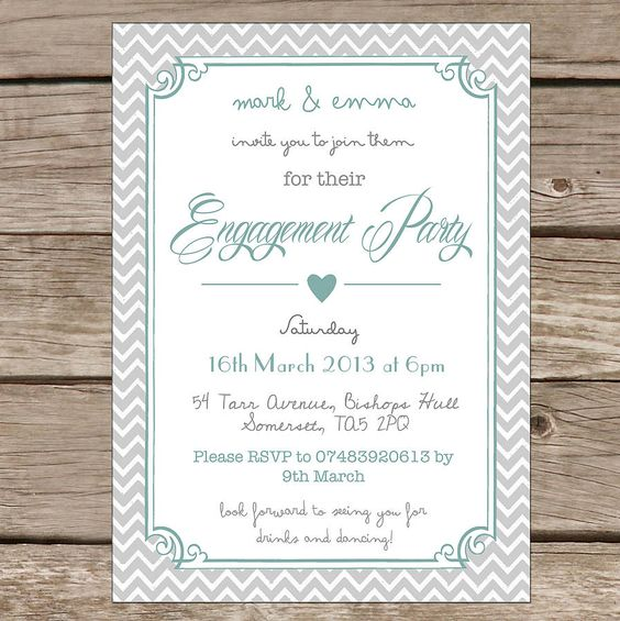 engagement party invitation templates free – Free Engagement Party Invites
