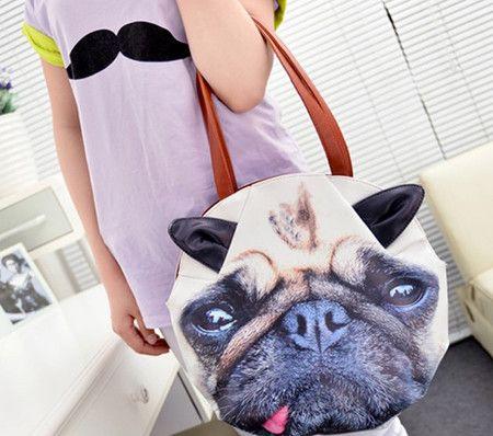 Bolsa Pug Dog