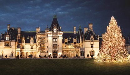 Candlelight Christmas Evenings at #Biltmore