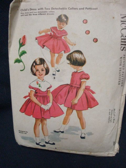 I may need a board just for Helen Lee Pattterns.  I love these, maybe as much for the art as for the styles.  These are the types of dresses my mom sewed for me from 1955 on.