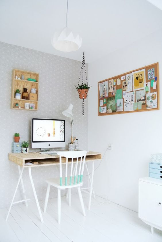 Un despacho alegre de MyAttic en www.decoandliving.com