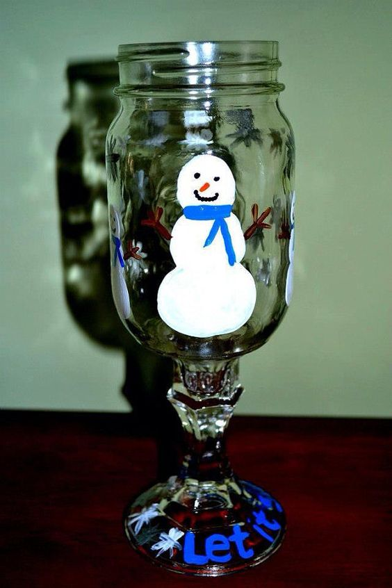 Let it Snow by SouthernYankeeLove on Etsy, $16.00