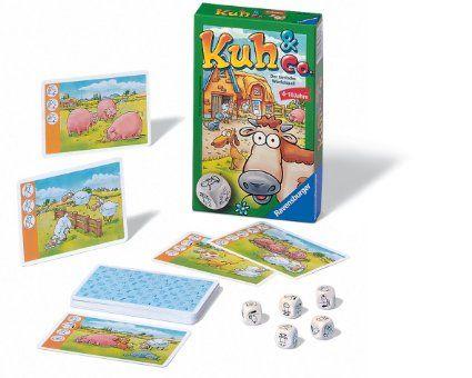 Ravensburger 23160 - Kuh und Co. - Mitbringspiel: Amazon.de: Spielzeug
