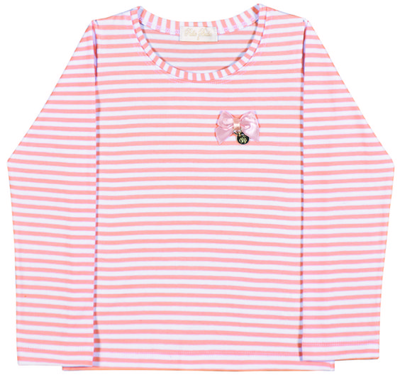 Toddler Clothing - Collection: 2014 Fall/Winter.  Name: Stripe Shirt. Available in 4 colors.  http://www.pullabulla.com/Stripe-Shirt-p/31202r.htm