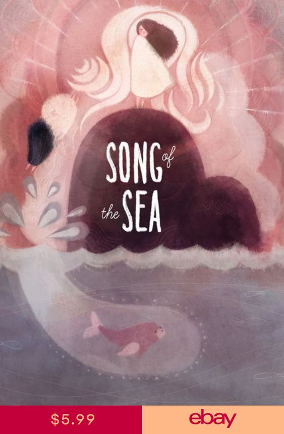 """012 Song of the Sea 2014 Film Animated Fantasy Movie 24/""""x32/"""" Poster"""
