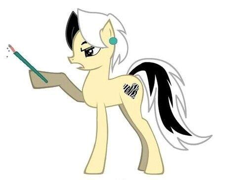 Cruella De Vil [as My Little Pony] (As My Little Pony by KaosHoneyBun @deviantART) #101Dalmatians