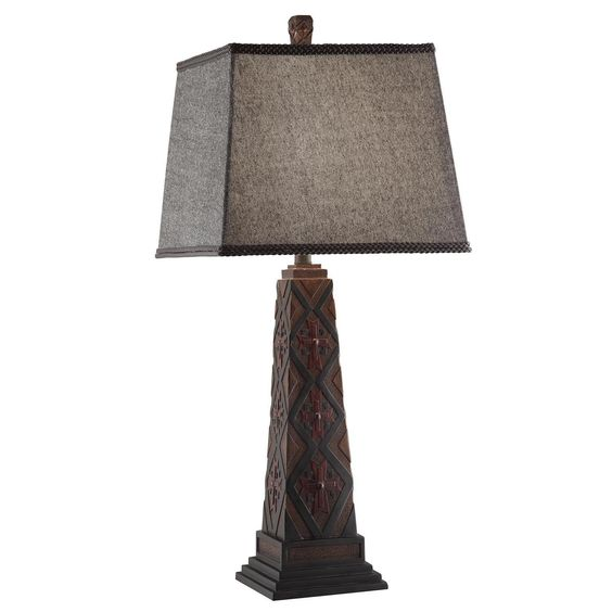 Crestview Chief Table Lamp - CVAVP015