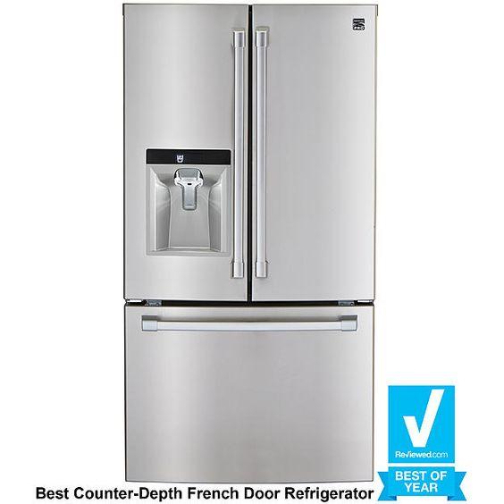 Kenmore Pro 79993 23.7 cu. ft. Counter-Depth French Door ...