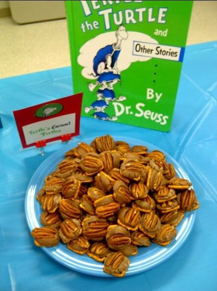 and more baby shower foods rolo dr seuss pecans turtles pretzels baby ...