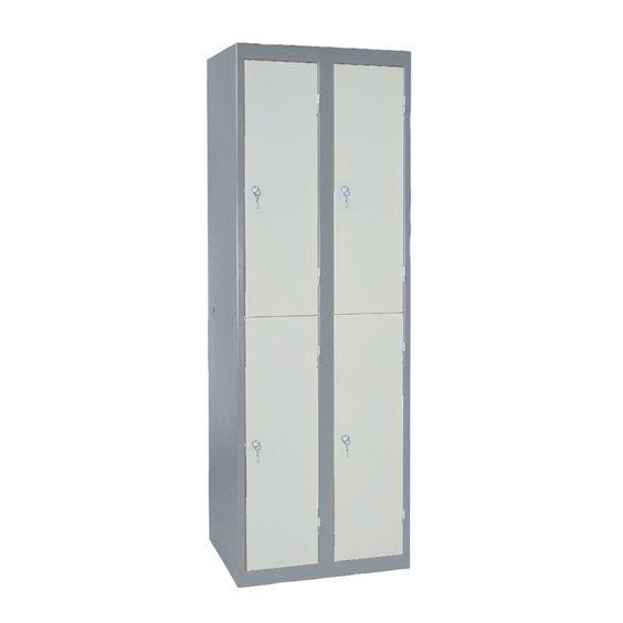 Vestiaire Monobloc Multi Casier Largeur 400 2 Colonnes Casier Des Colonnes Et Porte Cintre