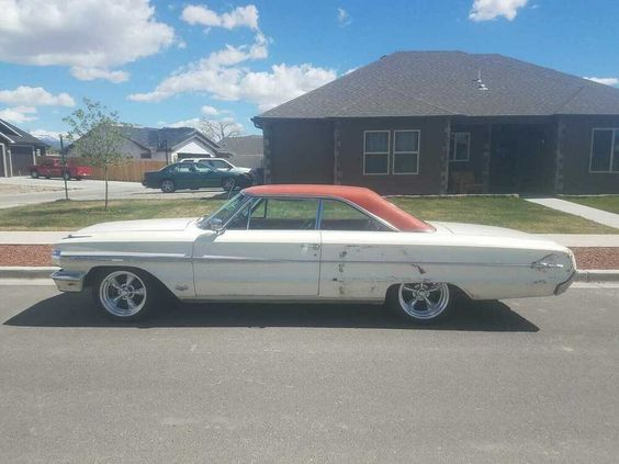 For Sale Is My All Original Numbers Matching 1964 Ford Galaxie 500 Xl Fastback This Car Has 77 170 Actual Miles Or Ford Galaxie Ford Galaxie 500 Galaxie 500