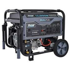 Pulsar 12000 Watt Portable Dual Fuel Propane Gas Generator Electric Start G12kbn Portable Generator Dual Fuel Generator Best Portable Generator