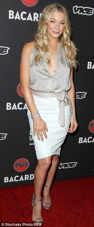 LeAnn Rimes at the Bacardi Loud & Untameable Live concert event celebrating Cuban Independence Day in Brooklyn