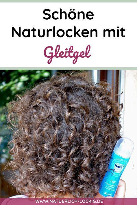 Naturlocken Definieren Stylen Mit Gleitgel Du Wirst Uberrascht Sein Naturlocken Locken Machen Haare Pflegen
