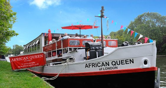 5 Day Cruises River Thames African Queen