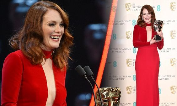 Julianne Moore wins Best Actress at BAFTAs