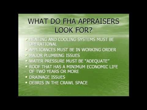 Home Inspection Requirements For Fha Loans Fha Loans Fha Mortgage