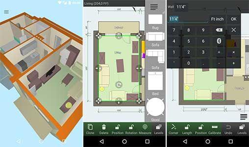 تحميل تطبيق Floor Plan Creator Full 3 4 3 تطبيق خرائط ممتاز لنظام الندرويد النسخة الكاملة In 2020 Floor Plan Creator Floor Plans Online Hotel Floor Plan