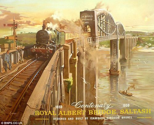 Old Railway Posters 02 by DrJohnBullas, via Flickr