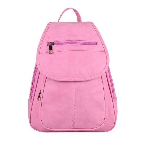 Obc Damen Rucksack Cityrucksack Stadtrucksack Backpack Xa442 Plum Handtasche Leder Schultertasche Handtaschen