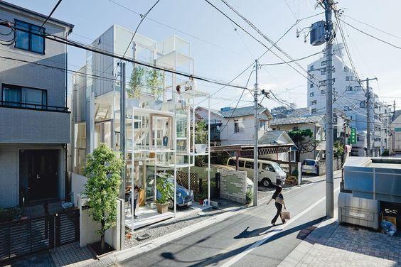 House NA by Sou Fujimoto Architects, Tokyo, Japan