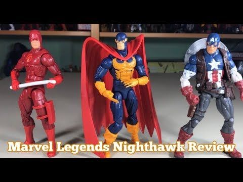 Night Hawk Marvel Legends Avengers Endgame wave 2019 Hasbro loose figure
