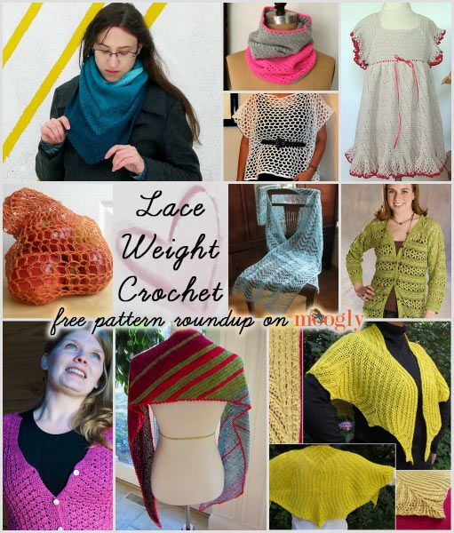 Free Crochet Patterns For Thin Yarn : Light and Lovely Lace Weight Crochet - free pattern ...