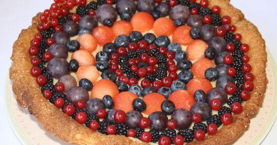 Pizza Fichi e Zighinì: Sorpresa in codice - Crostata di  yogurt con crema di soia e frutta