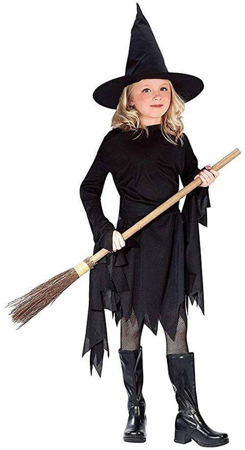 10 Hexe Halloween Kostume Fur Kinder Madchen Und Frauen 2018 Halloween Kostume Kinder Madchen Hexenkostum Madchen Kostume