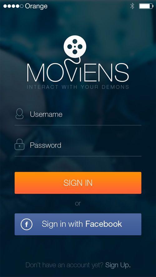 Modern app sign in ui and login ui screen designs 6 ux for Modern screen design