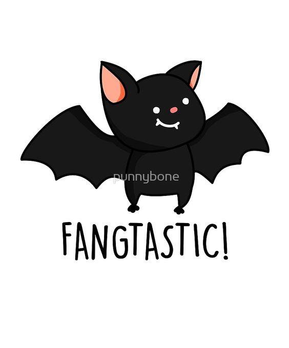 """Fangtastic Halloween Pun"" by punnybone   Redbubble"