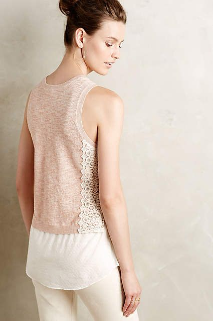 Laced Montage Tank - anthropologie.com: