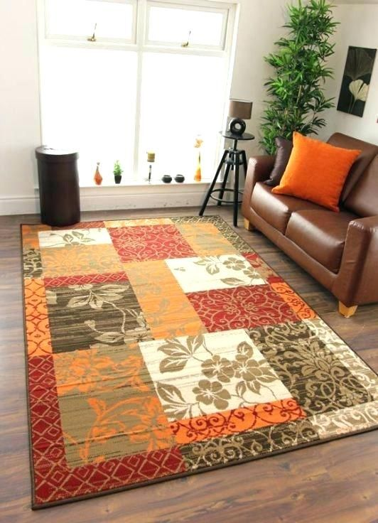 Gorgeous Orange And Brown Area Rug Images Fresh Orange And Brown