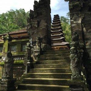 Pura Kehen Temple - escada