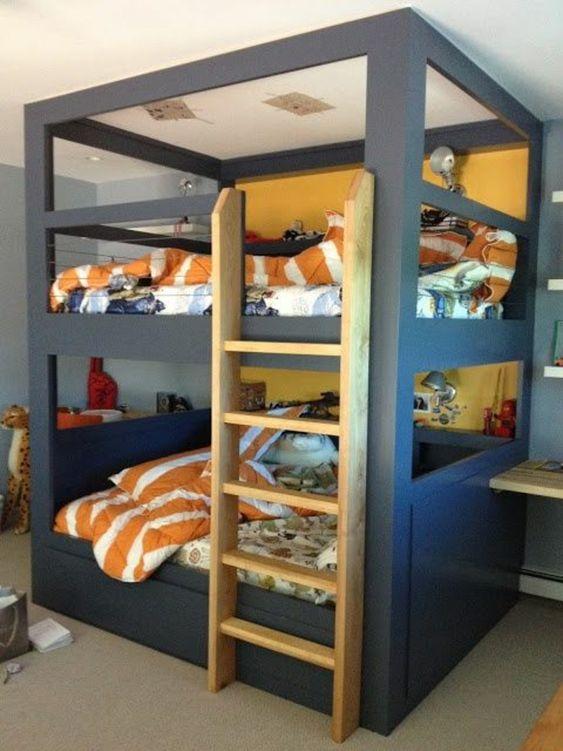 lit enfant sureleve lits superposes ikea meuble dans la chambre denfant