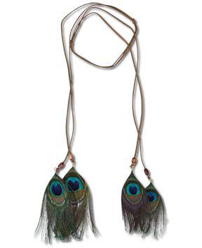 SoulFlower-NEW! Peacock Feather Headband-$24.00 #liviniseasy @Soul Flower