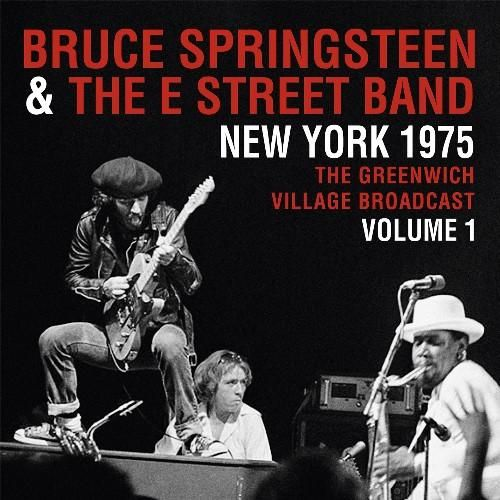 Bruce Springsteen New York 1975 Greenwich Village Broadcast Volume 1 Vinyl Double Album With Images Bruce Springsteen New Vinyl Records