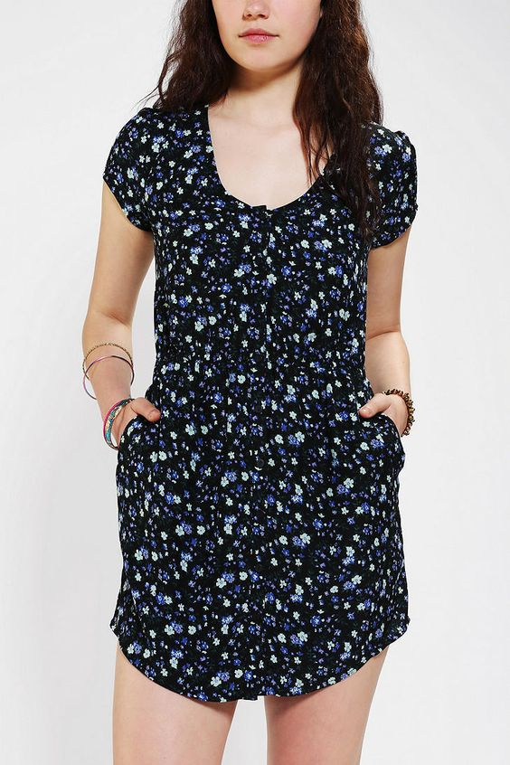 #UrbanOutfitters          #Women #Dresses           #blue* #measurements #sabrina #shirtdress #slit #silky #button-down #a-line #elastic #pockets #exclusive #waist #v-neck #model #soft #blue #black           Kimchi Blue Silky Sabrina Shirtdress                Overview:* Soft and silky button-down shirtdress from Kimchi Blue* Topped with a v-neck and gently puffed sleeves* Elastic at the gathered waist; A-line skirt* Slit pockets at the sides* UO Exclusive Measurements:* Model in Black is…