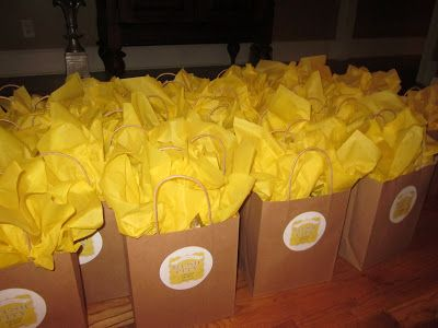 The Best Day Ever...Out of Town Gift Bags