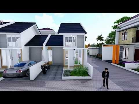 Rumah Minimalis Type 36 60 45 60 Dan Type 60 72 Griya Tiya Asri Youtube Rumah Minimalis Desain Rumah Rumah