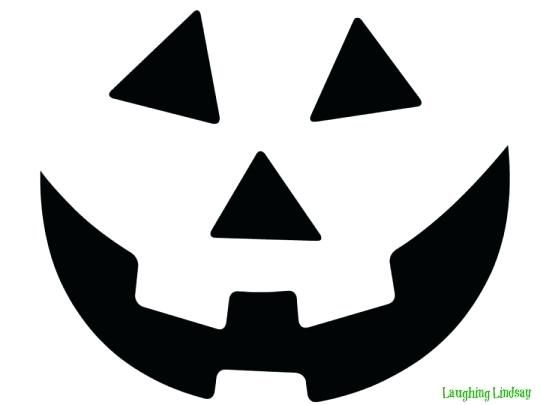 Halloween Cutout Decorations Printable Jack O Lantern Faces Jack O