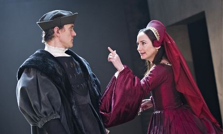 """Ben Miles and Lydia Leonard in the stage adaptation of Hilary Mantel's Wolf Hall. """"How true should historical fiction be?"""" From Hilary Mantel to Andrew Miller to Philippa Gregory, historical fiction is enjoying a boom. But novelists are storytellers, not history teachers, argues Stephanie Merritt."""