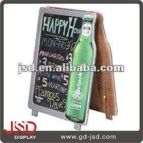 #black chalk writing board, #wooden chalk  board, #menu board