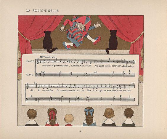 La Polichinelle L-M Boutet de Monvel by kikihalb... computer operational again :-), via Flickr