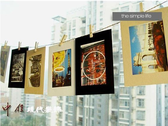 Great way to hang your art!
