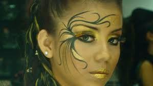 maquillaje artistico rojo - Buscar con Google