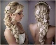 different than the usual updo's.. braids, waves, flowers.. simply lovely