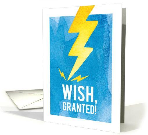 Funny Birthday Wish Granted Card Birthday Wishes Funny Birthday Humor Birthday Wishes