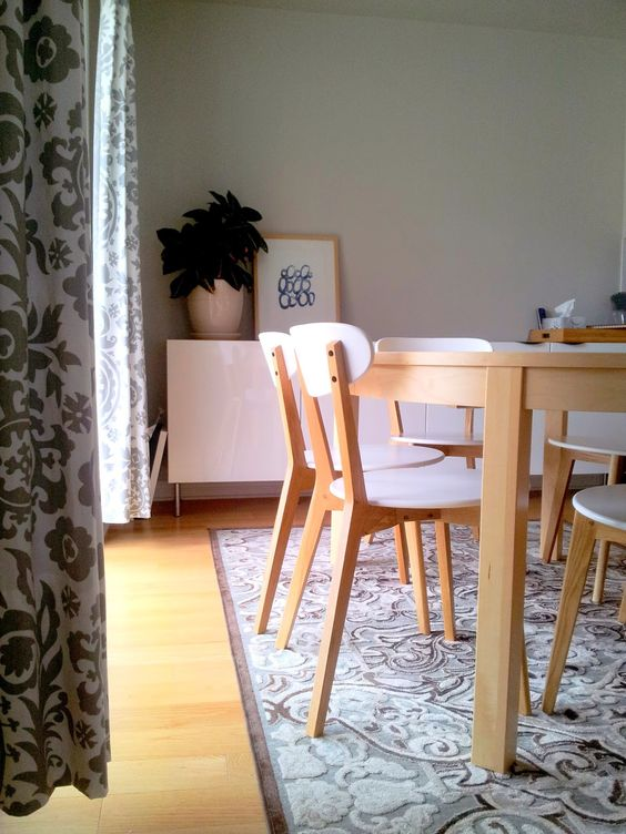 1000 images about living on pinterest ikea eames and mesas charming pernk dining room
