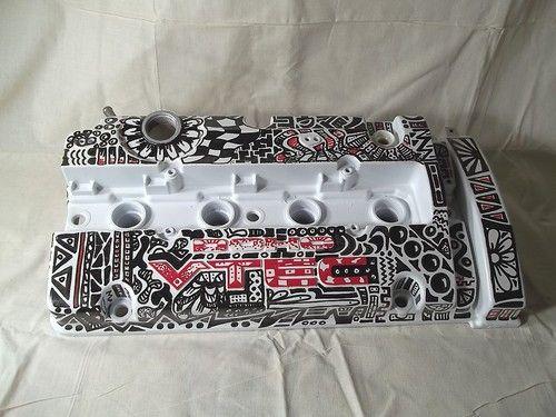 Custom Graffiti H22 Honda Civic CRX Prelude Integra Valve